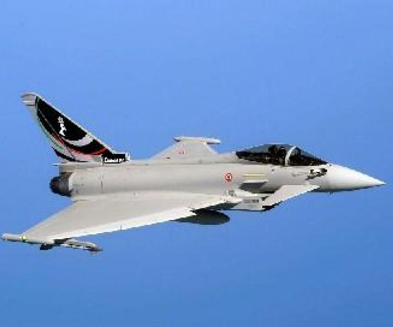 The Italian Air Force 4th Stormo reach 10,000 hours with the Eurofighter Typhoon Eurofighter Typhoon