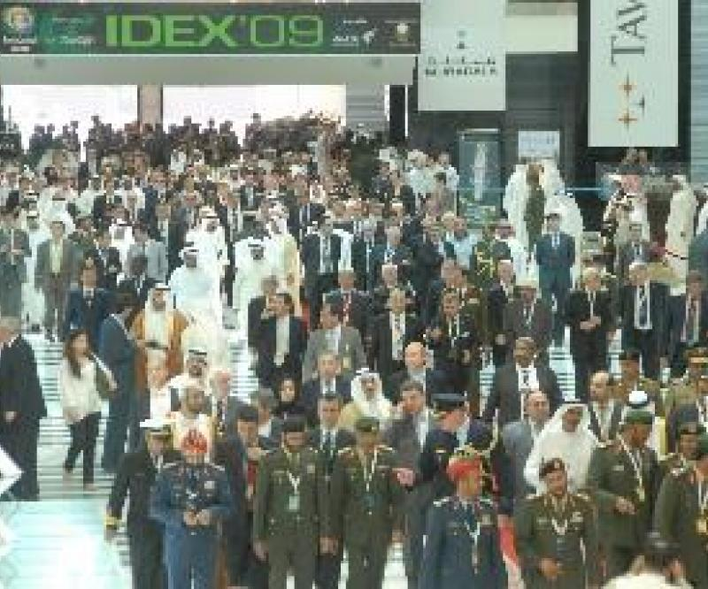 IDEX 2011: 70% of Indoor Space Booked!