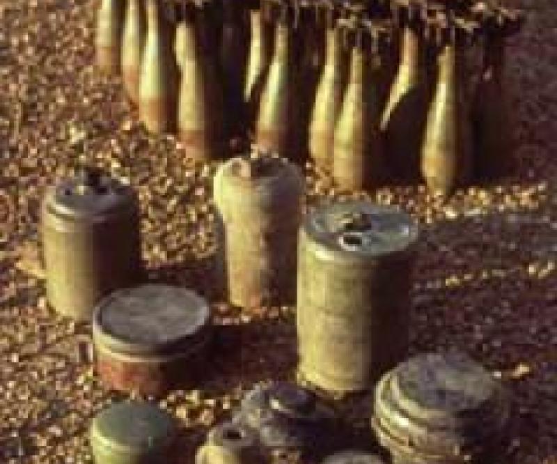 Egypt Clearing World War II Mines