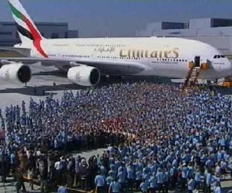 Emirates to Receive 1st Airbus A380