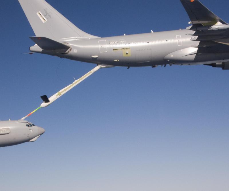 A330 MRTT Refuels AWACS