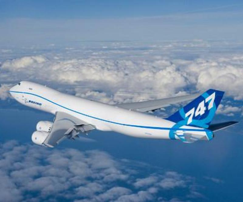 Boeing 747-8 Freighter Completes 1st Flight
