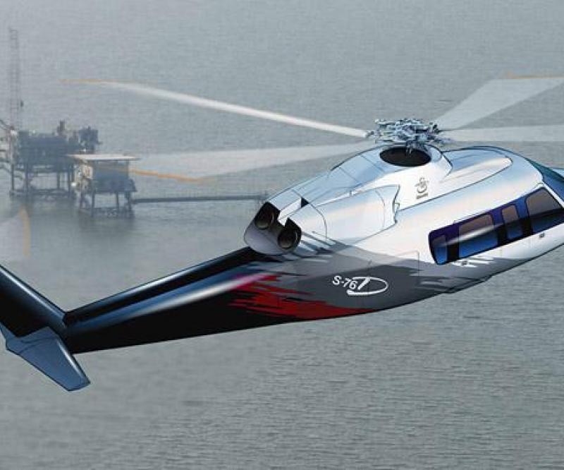 2nd Prototype in S-76D Program