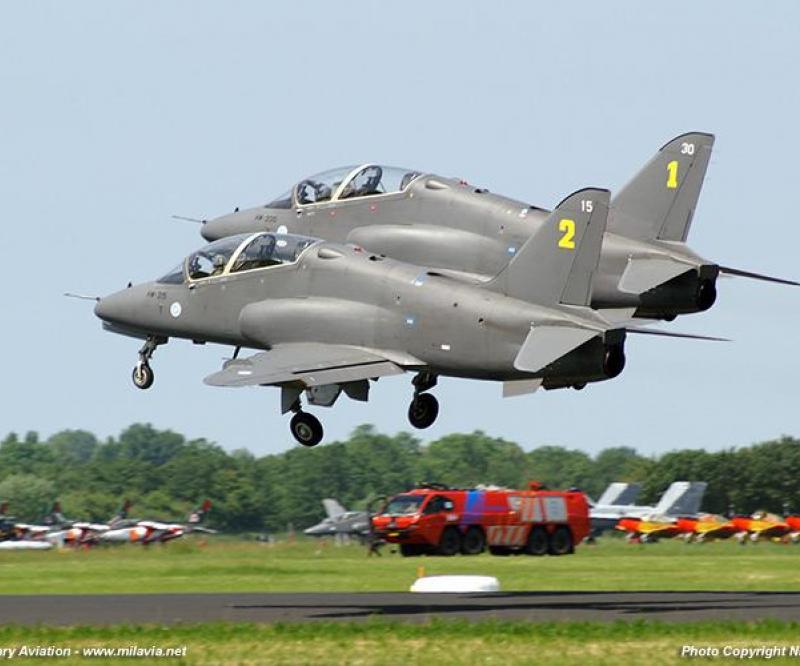 Iraq in Talks for Hawk Trainer Jets
