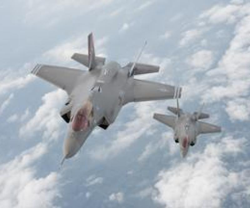 F-35 Fighters arrive at Edwards AFB