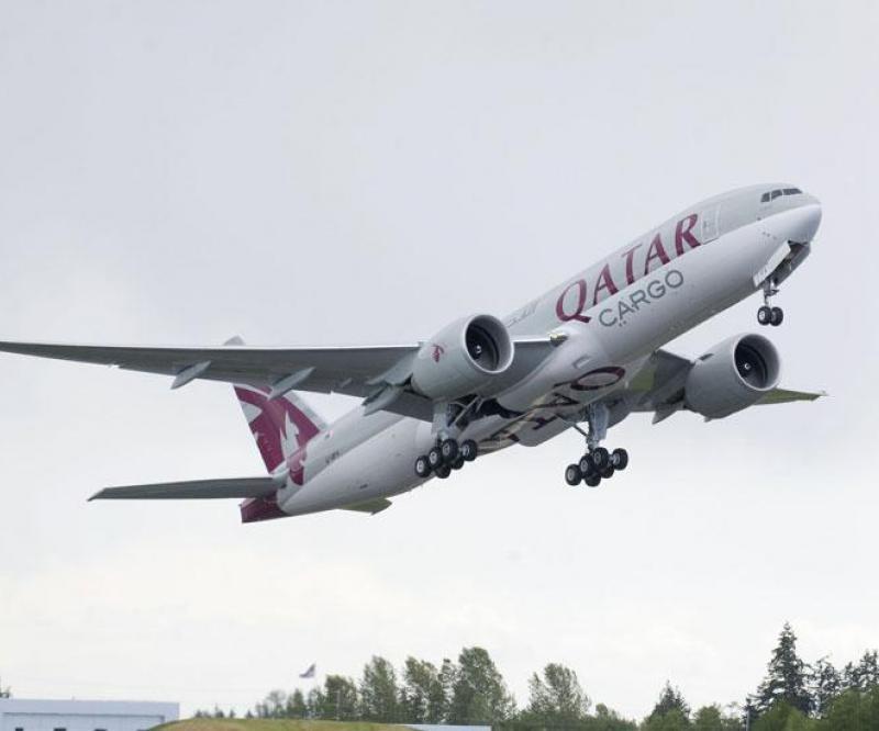 Qatar Airways Welcomes New B777 Freighter