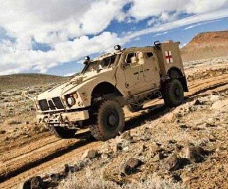 Oshkosh: New M-ATV Ambulance Variant