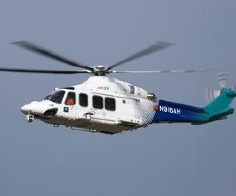 3 AW139 Helicopters to Saudi Aramco