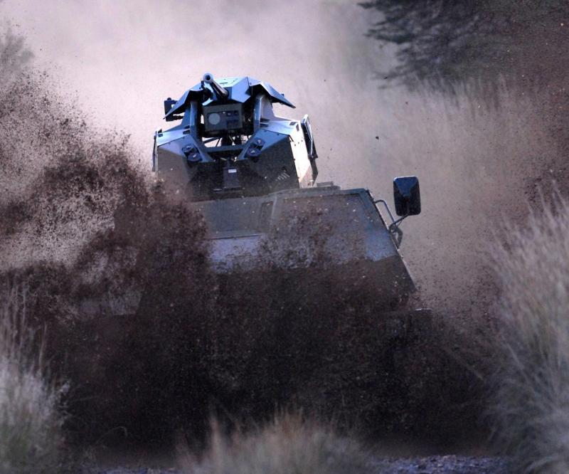 BAE Systems Debuts New Tactical Remote Turret (Trt) At Eurosatory