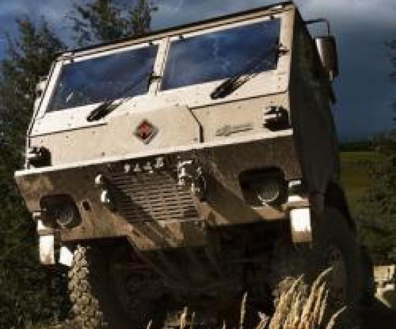 Navistar & Tatra Unveil 2 Tactical Vehicles