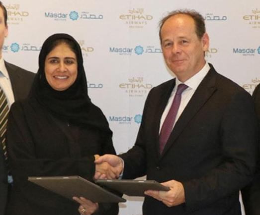Etihad, Masdar Institute Sign Research Agreement