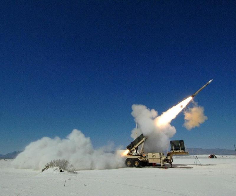 Lockheed Martin's PAC-3 Missile Intercepts Target in Flight Test