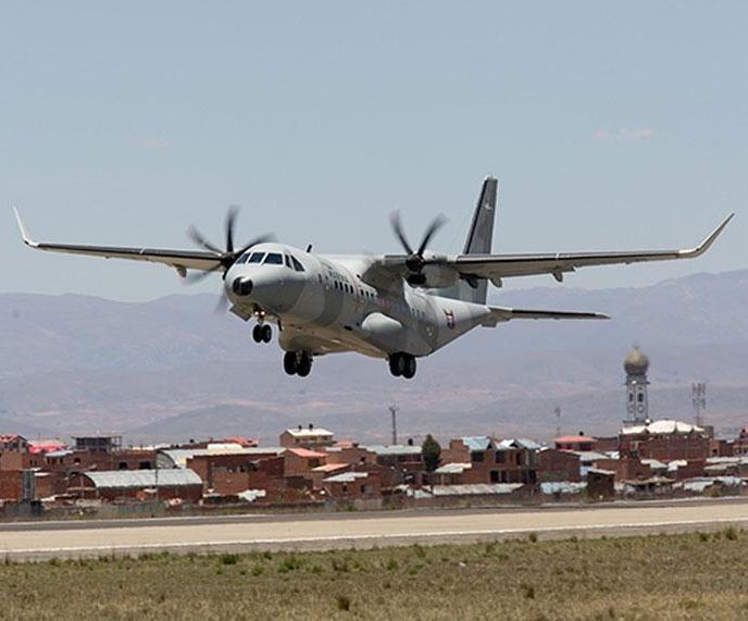 Airbus C295W Demos Capabilities in Hot, High Conditions
