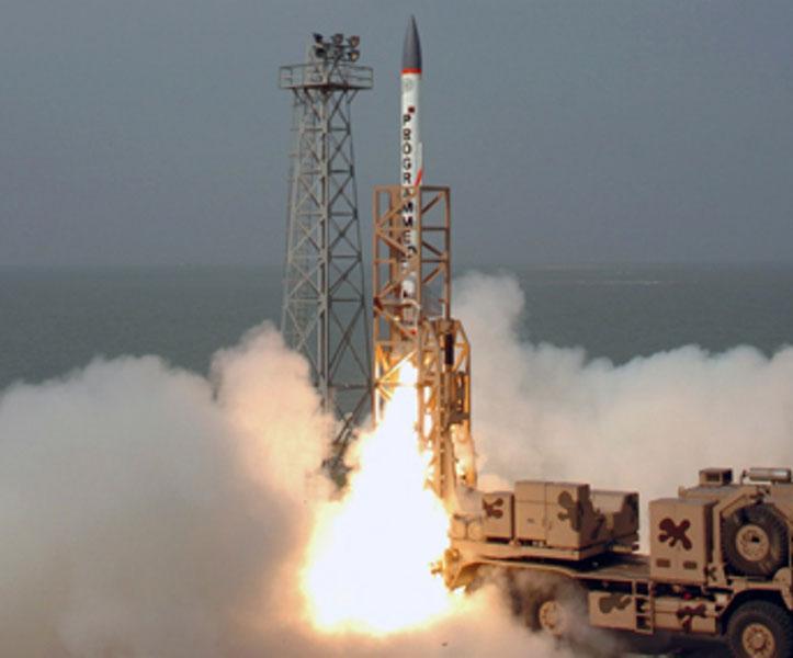 India Test Fires Nuclear-Capable Agni-I Missile