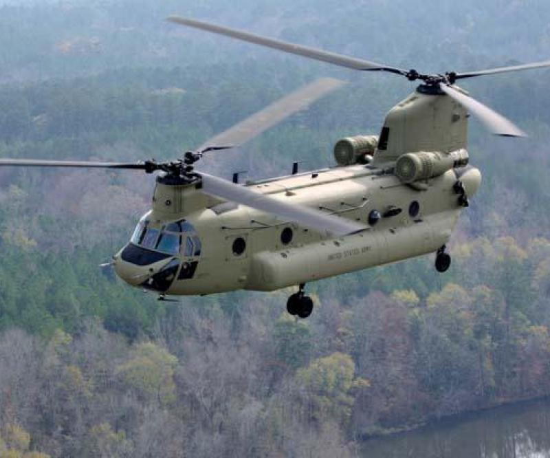 Boeing Celebrates 100th CH-47F Chinook