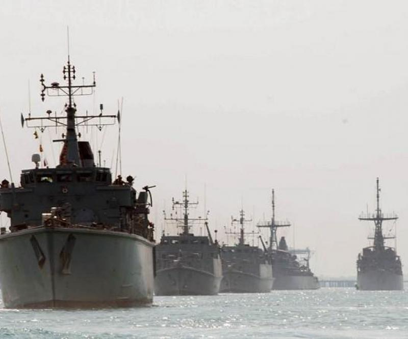 Mine Countermeasure Exercise in the Gulf