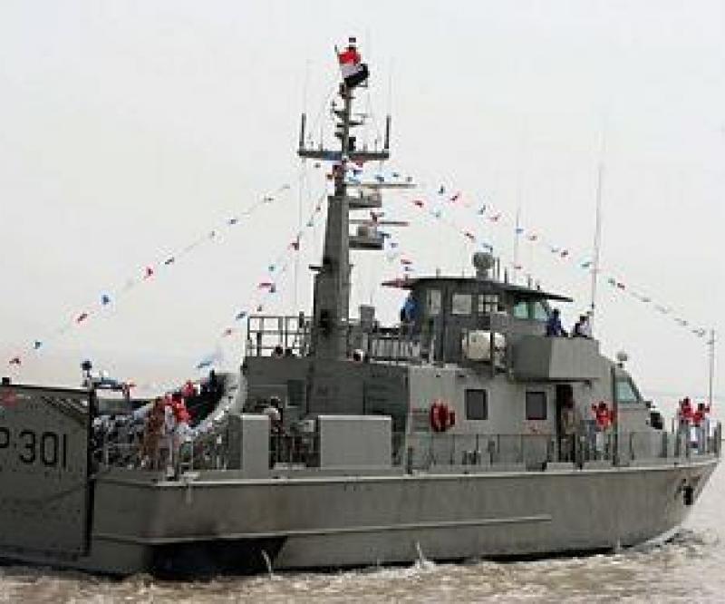 Iraq Inaugurates First Patrol Boat
