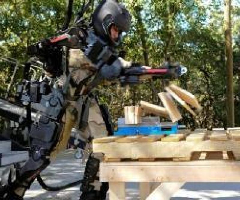 Raytheon's 2nd Gen Robotic Suit