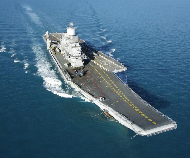 Rostec Modernizing Indian Vikramaditya Aircraft Carrier