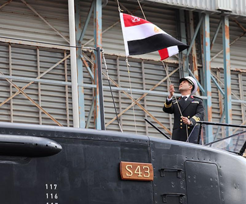 thyssenkrupp Marine Systems Hands Over Third Submarine to Egyptian Navy