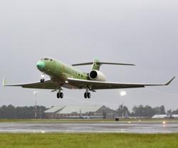 4th Gulfstream G600 Test Aircraft Makes 1st Flight