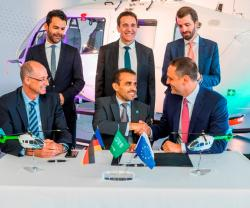Saudi Aramco Subsidiary to Receive Five H145 Helicopters