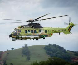 First H225M Helicopter Unveiled in Naval Combat Version