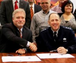 Orbital ATK, USAF Sustainment Center Sign Support Agreement