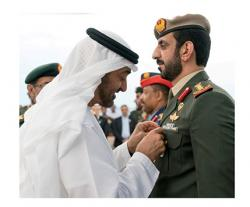 Abu Dhabi Crown Prince Honors Members of UAE Armed Forces