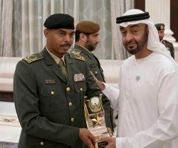 Abu Dhabi Crown Prince Honors Winners of Armed Forces' Excellence Award