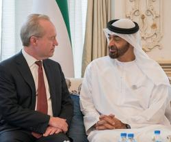 Abu Dhabi Crown Prince Receives Chairman & CEO of Raytheon