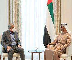 Abu Dhabi Crown Prince Receives Pakistan Army Chief