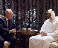 Abu Dhabi Crown Prince Receives Raytheon Chairman