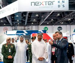 Abu Dhabi Crown Prince Toured UMEX/SimTEX 2020