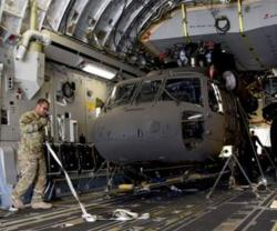 Afghan Air Force Receives First Two UH-60 Helicopters