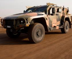 Australia Deploys New Hawkei Protected Vehicles Into Iraq