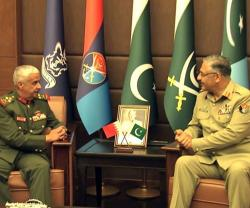 Bahrain, Pakistan Discuss Military Cooperation