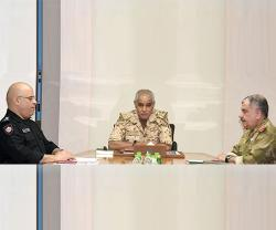 Bahrain's Chief-of-Staff Chairs Joint Defense & Security Committee