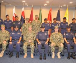Bahrain's Coast Guard Commander Attends Graduation Ceremony