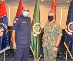 Bahrain's Coast Guard Commander Receives US 5th Fleet Commander