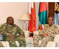 Bahrain's Commander-in-Chief Receives DSCA Director