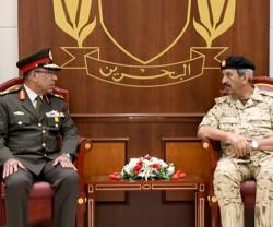 Bahrain's Commander-in-Chief Receives Egyptian Military Delegation