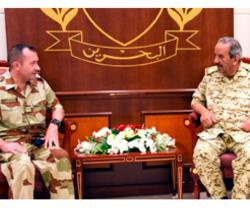 Bahrain's Commander-in-Chief Receives French Military Attaché