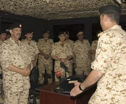 Bahrain's Commander-in-Chief Visits Royal Command, Staff & National Defense College