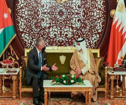 Bahrain's King Receives Jordanian Counterpart