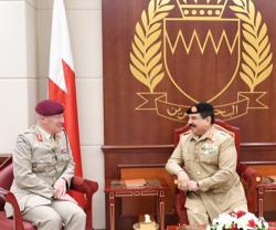 Bahrain's King Receives UK's Senior Defense Adviser