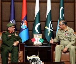 Bahrain's National Guard Director Visits Pakistan
