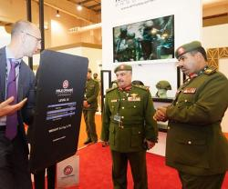 Bahrain's National Guard Staff Director Tours BIDEC