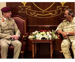 Bahrain Defense Chief Receives Departing British Advisor