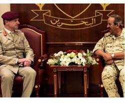Bahrain Defense Chief Receives Departing British Advisor